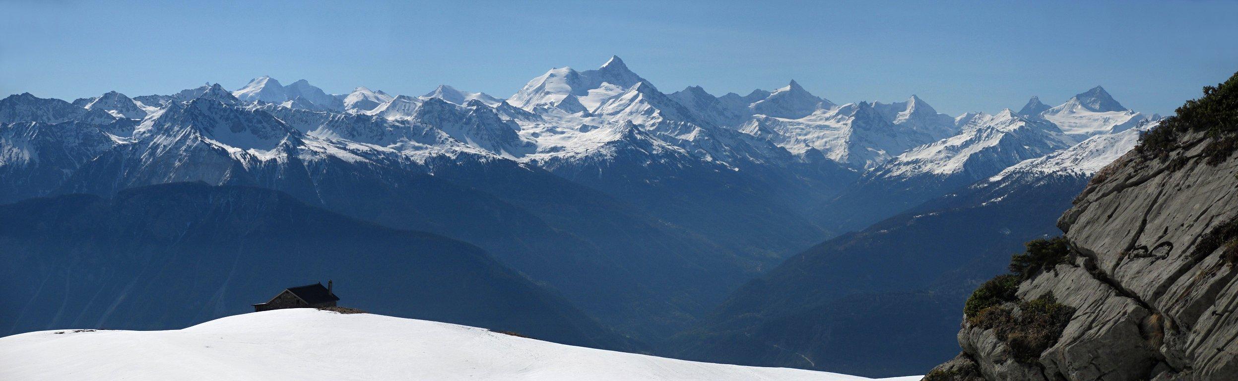 Alpes valaisannes - Antares Tourisme, limousines et autocars